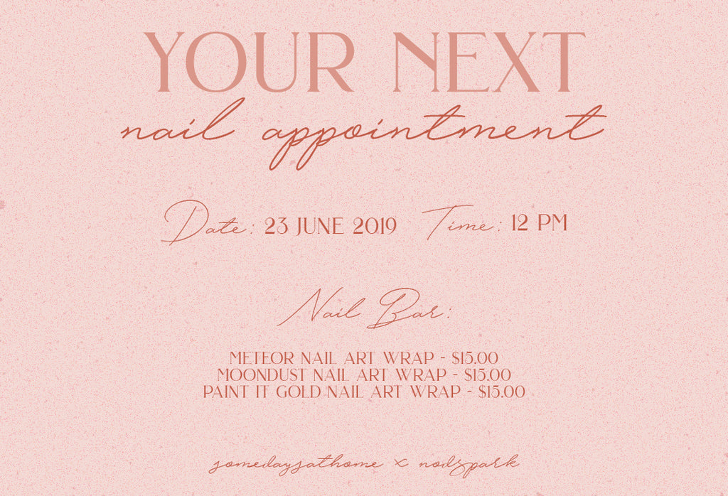 Make Your Next Nail Appointment With Us! 💅