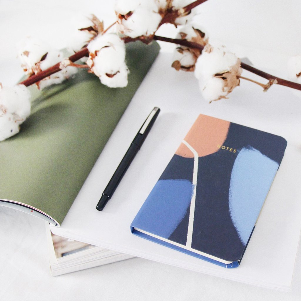 LINED NOTEBOOK  | NAVY