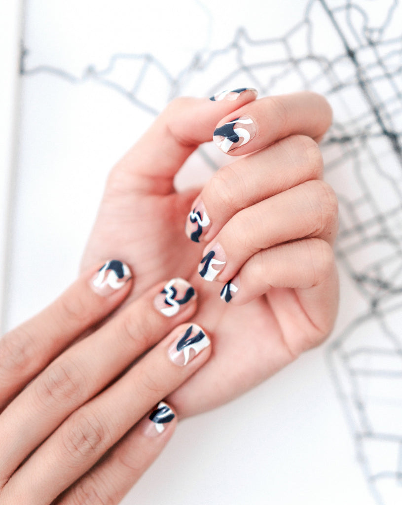 ART DECO NAIL ART WRAP