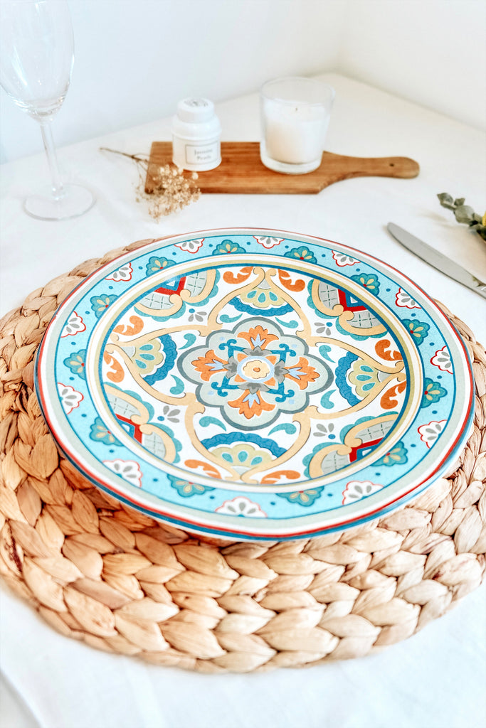 BLUE MOSAIC TURKISH PLATE