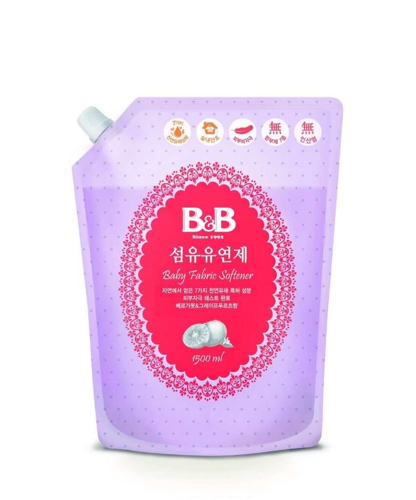 B&B Fabric Softener Refill - Bergamos 1500ml