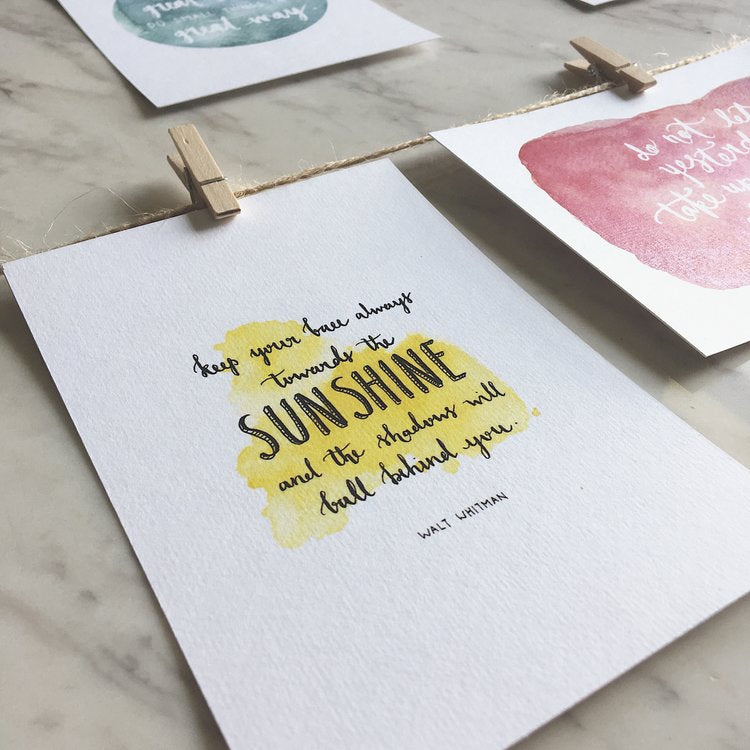 INSPIRATIONAL CARD COLLECTION | WATERCOLOR SERIES
