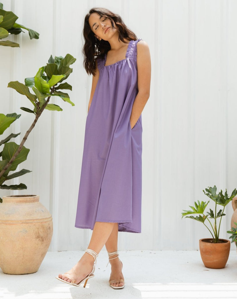 CRUISE LAVENDER DRESS