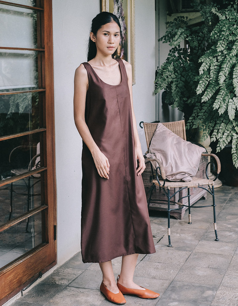 CLIO COFFEE DRESS