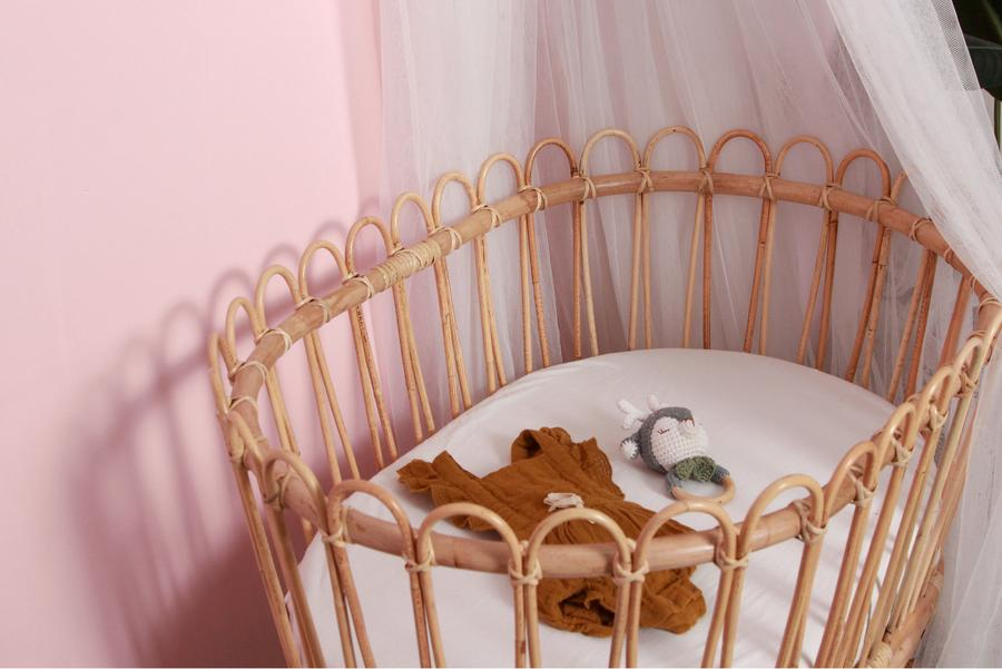 MOMIJI KIDS GERHANA BASSINET WITH POLE