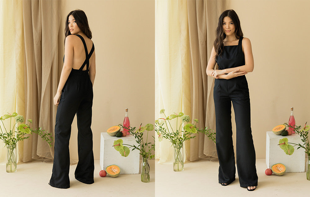 ICONIC BLACK JUMPSUIT