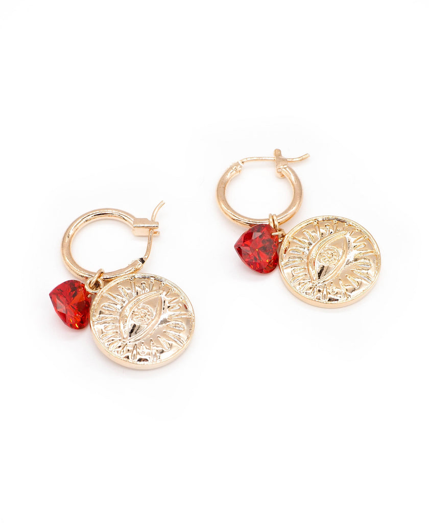 LOVE AT FIRST SIGHT EARRINGS