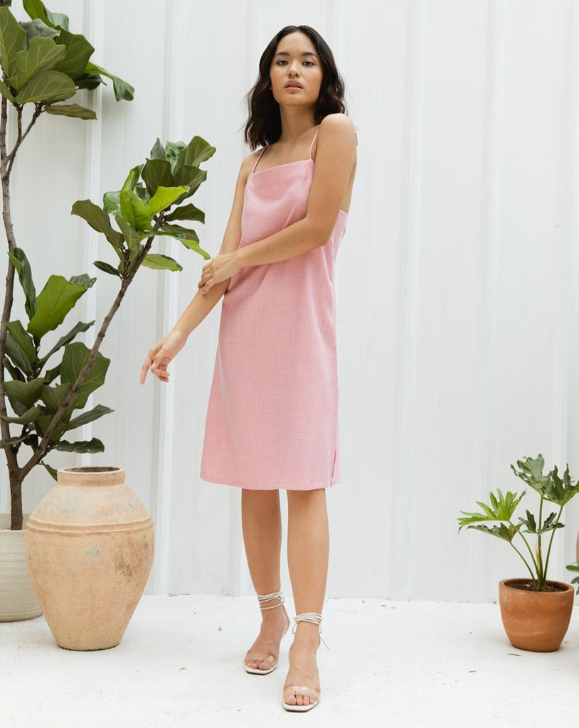 PRAIRIE BLUSH DRESS