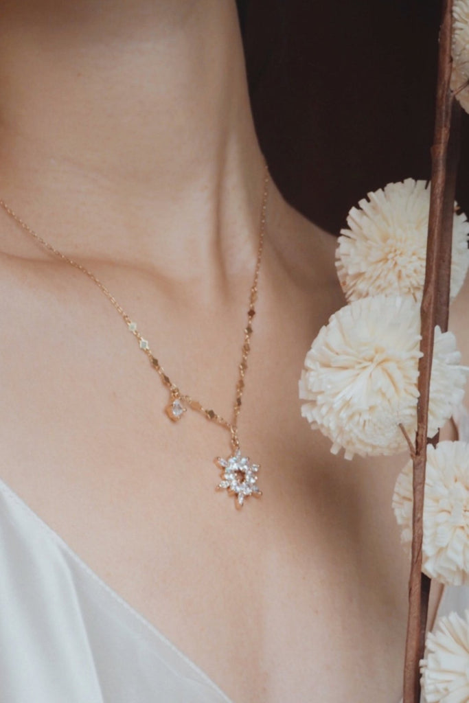 IT SNOWED NECKLACE