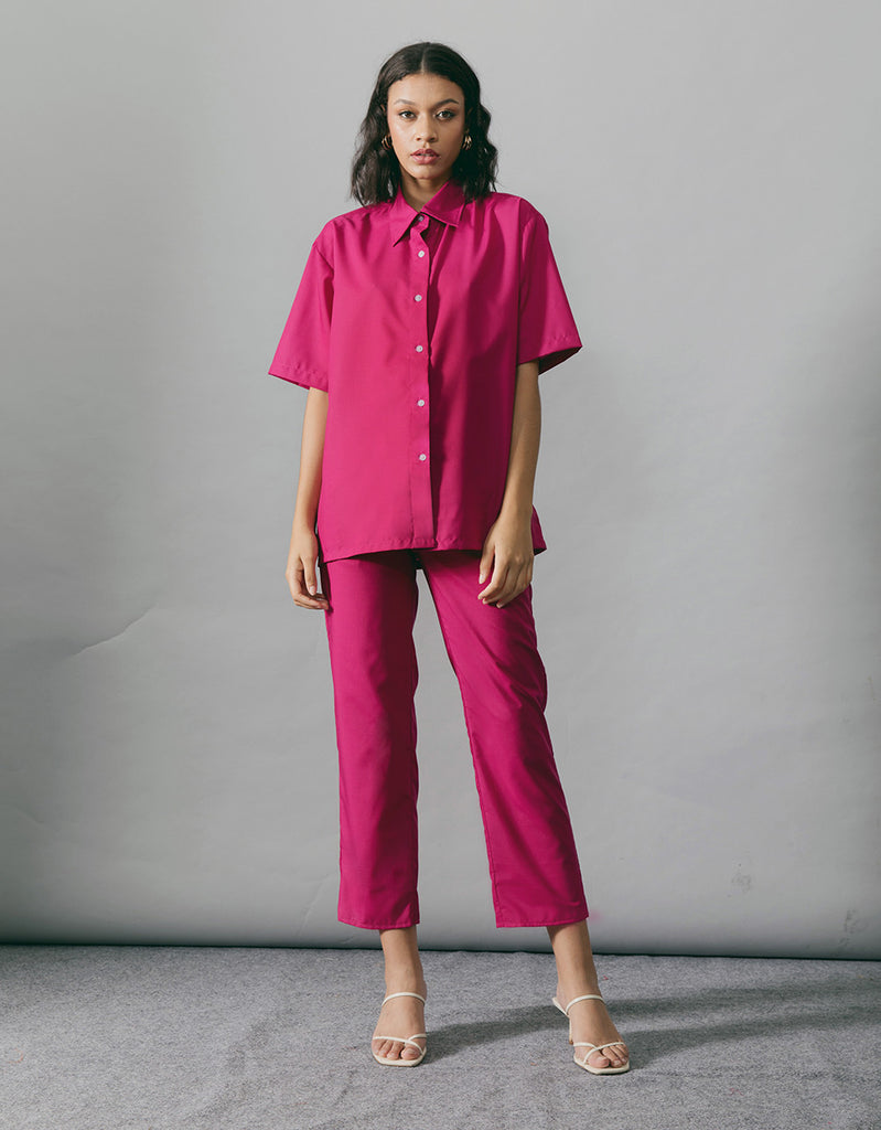 RUE FUSCHIA TOP