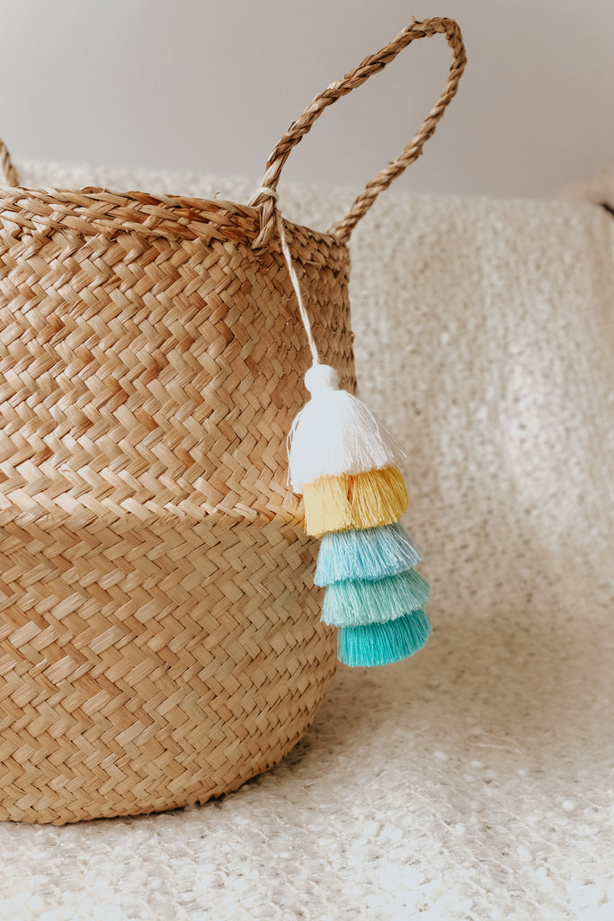 TASSEL TOWER BASKET
