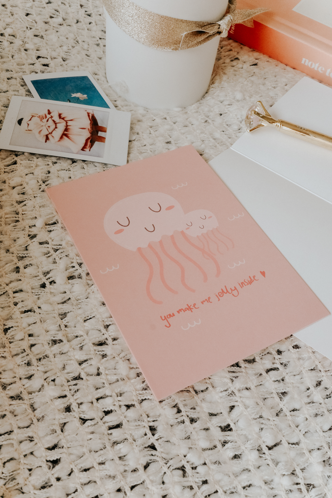 LOVE GREETING CARD | JELLYFISH