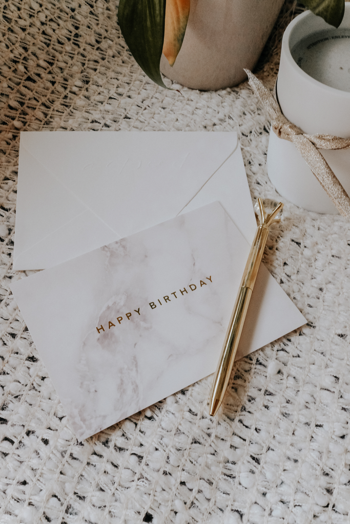 WITH LOVE CARD | MARBLE