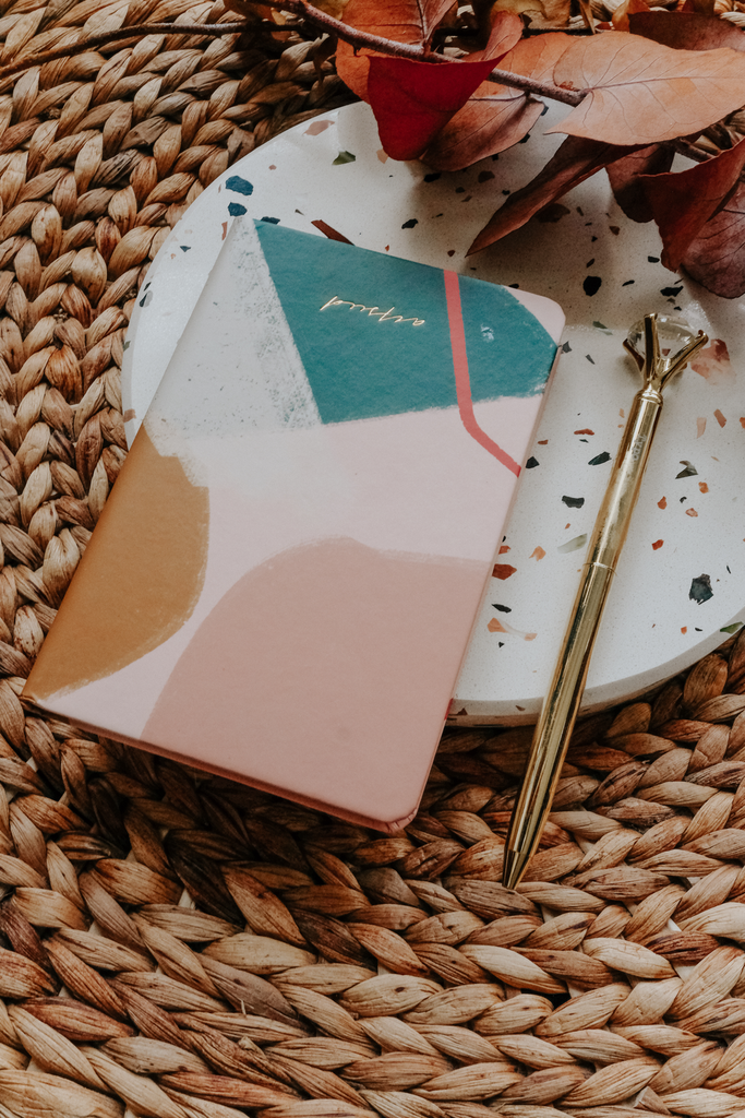 LINED NOTEBOOK  | PINK