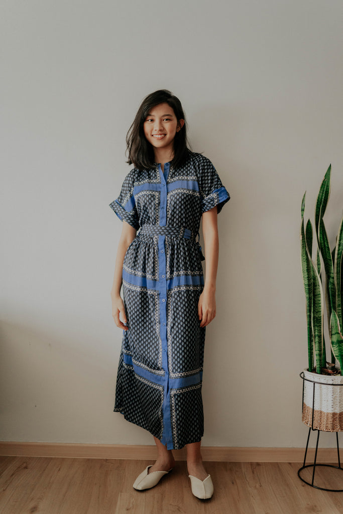 ROKO BUTTONED DOWN DRESS