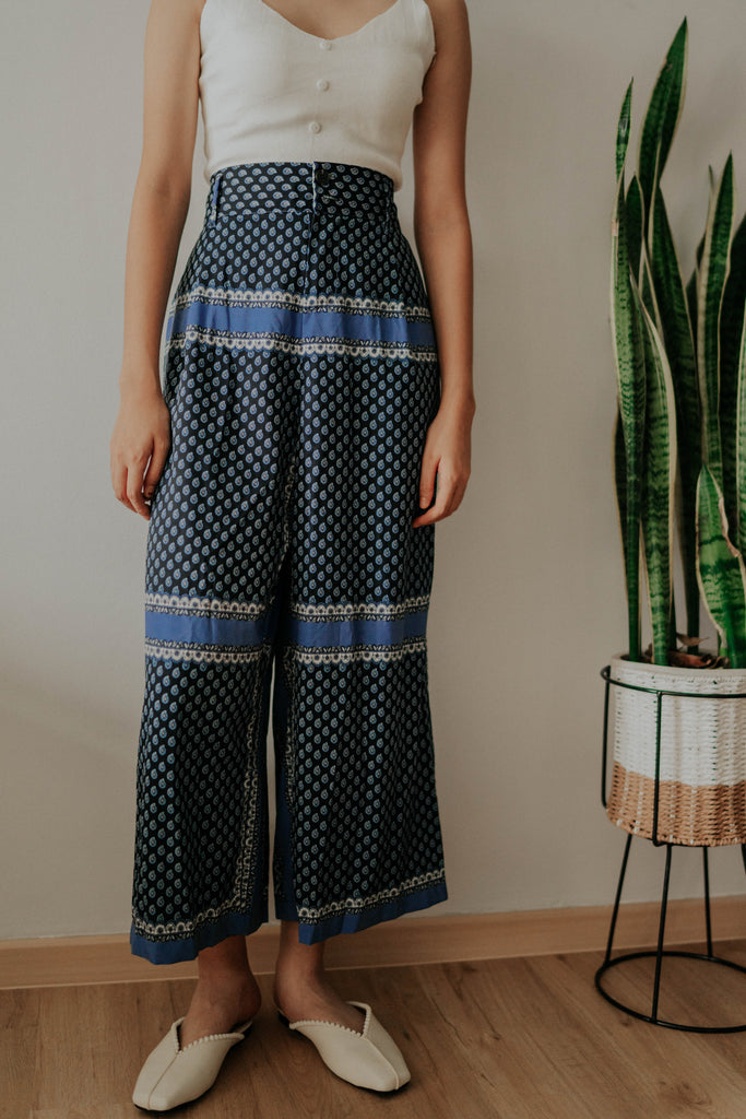 ROKO WIDE LEG TROUSERS