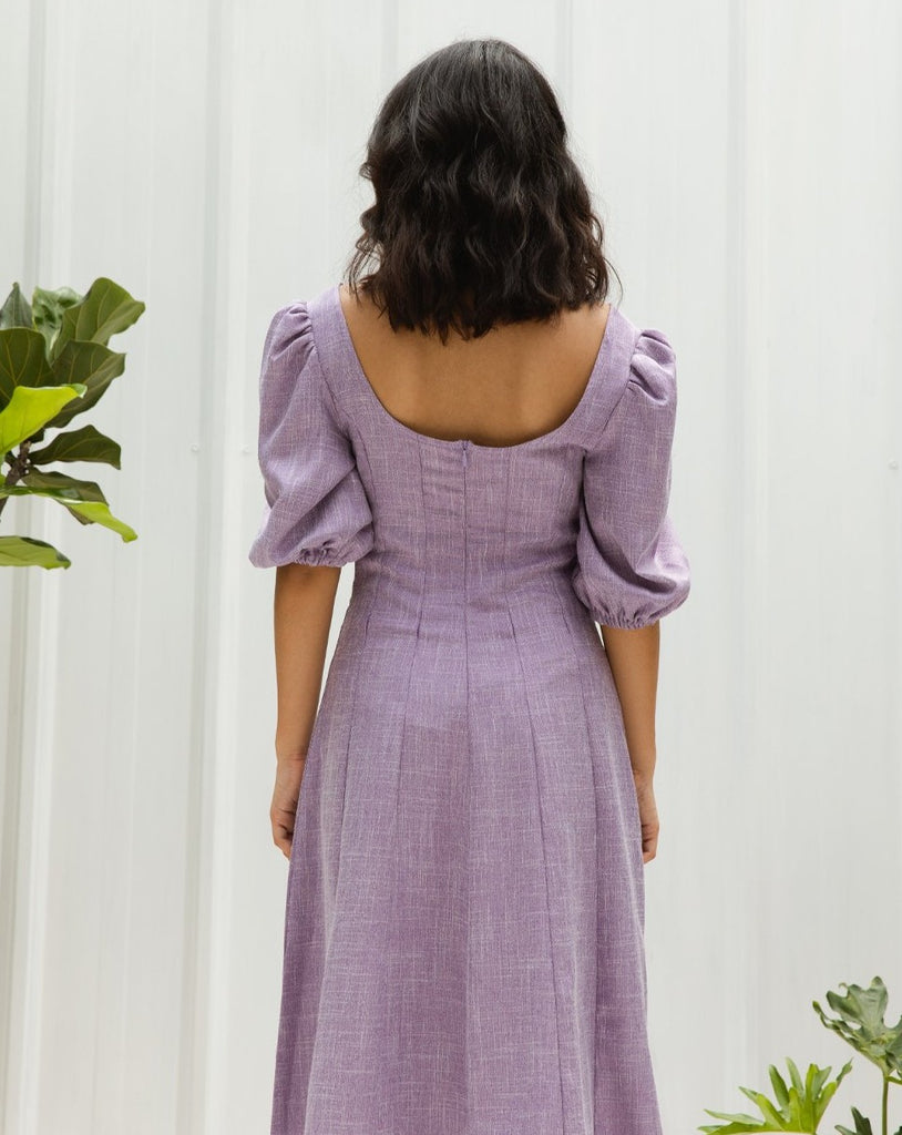 SAVANNA LAVENDER DRESS