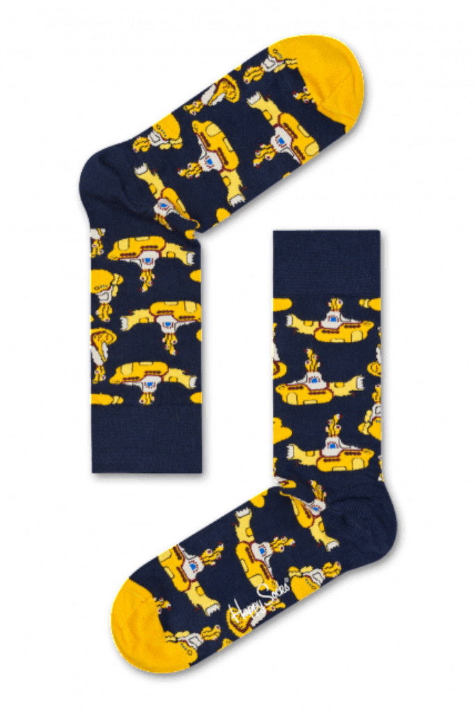 THE BEATLES YELLOW SUBMARINE SOCK