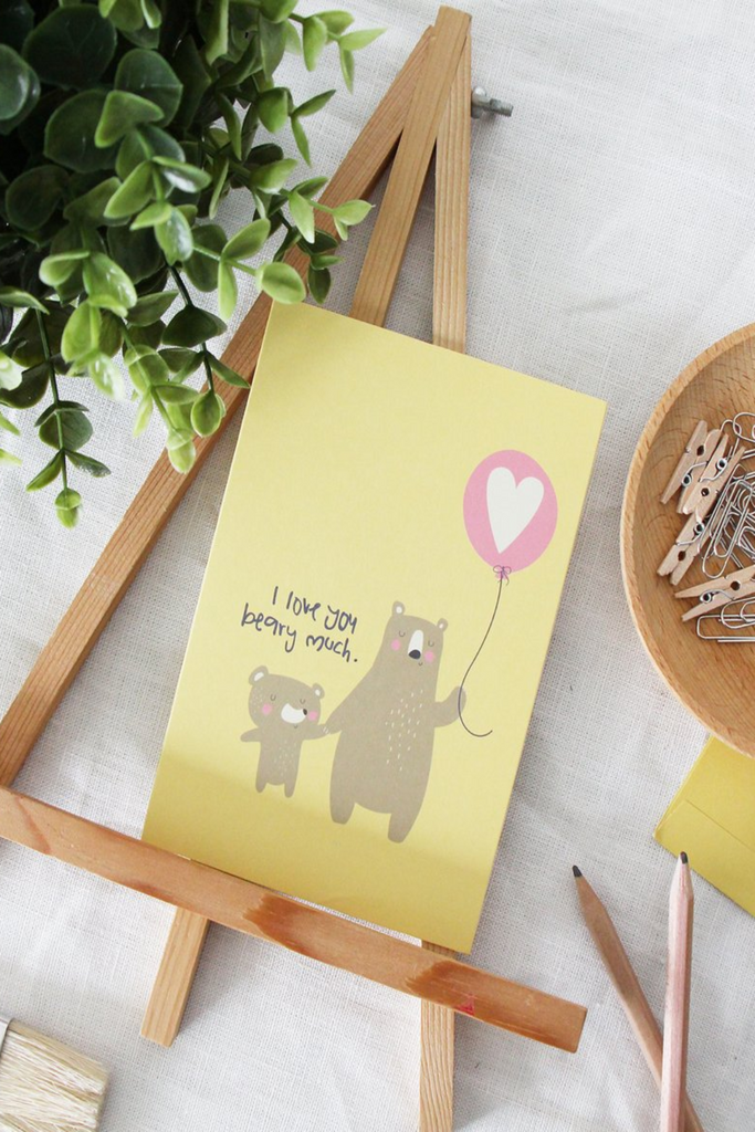 LOVE GREETING CARD | BEAR