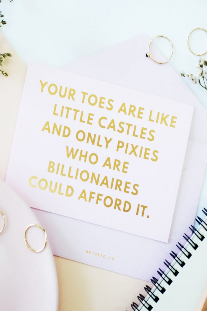 QUIRKY SERIES | CASTLES & PIXIES