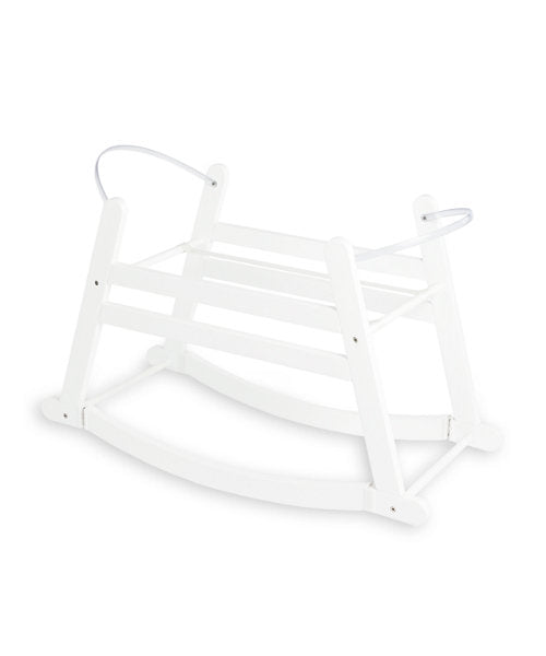 MOTHERCARE 2-IN-1 MOSES BASKET STAND - WHITE