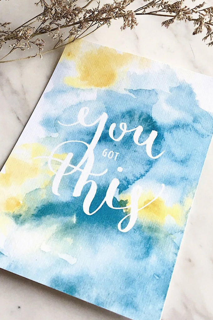 DREAMER SERIES | INSPIRATIONAL WATERCOLOR POSTCARDS