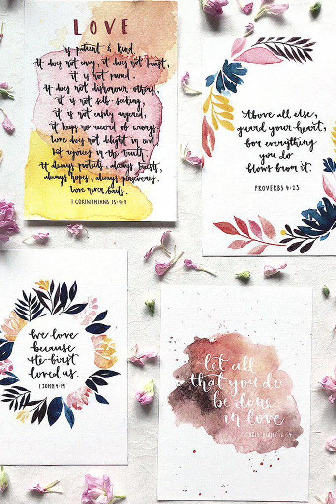 LOVE SERIES | CHRISTIAN INSPIRATIONAL CARD SET
