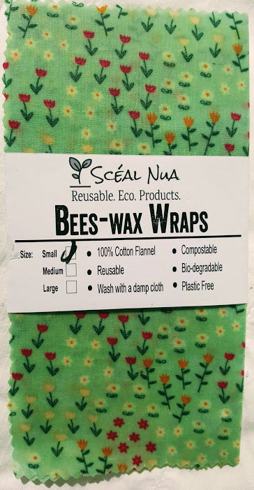 "Bees-Wax Wrap - Small 8"" x 8"""