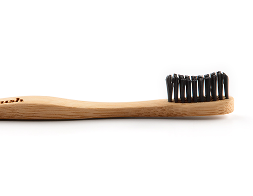Bamboo Toothbrush Adult Black