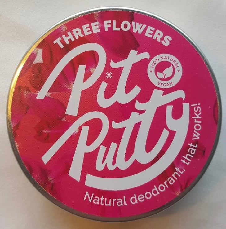 Pit Putty Natural Deodorant Three Flowers