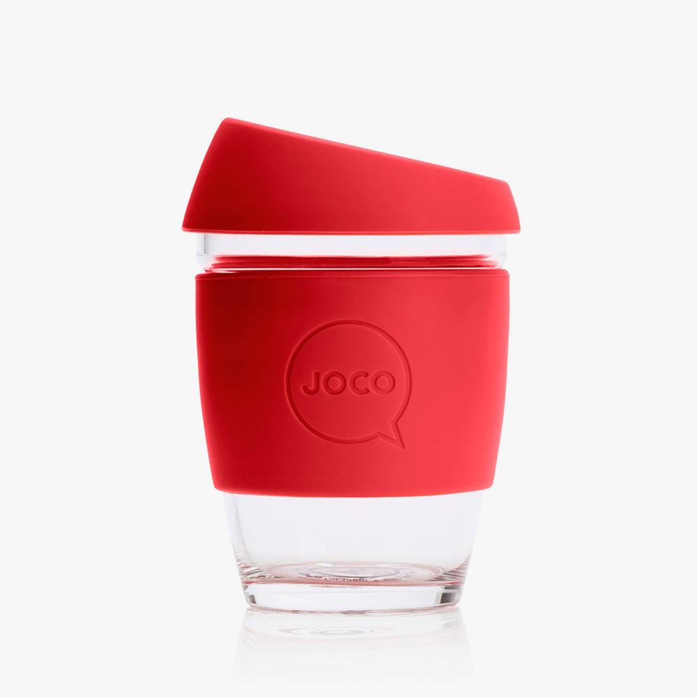 Reusable Coffee Cup 12oz Red
