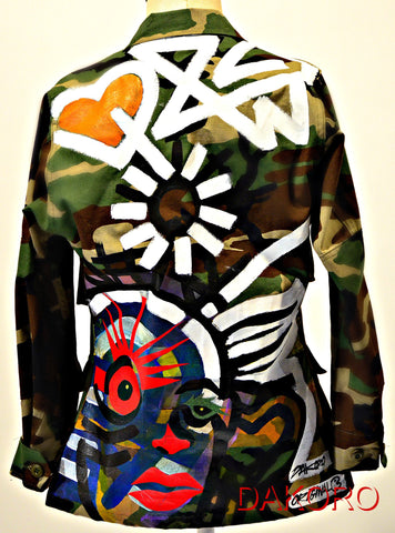 CAMO FREESTYLE (Jacket in picture Sold) New designs available for custom order