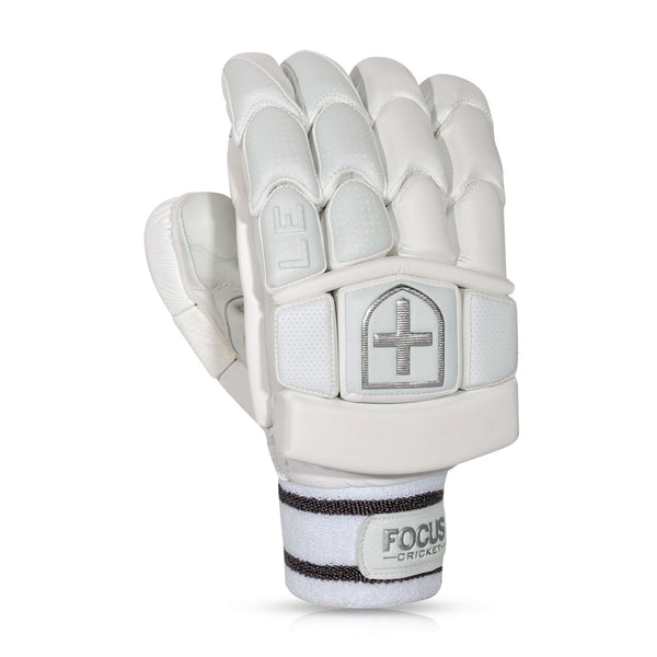 LIMITED BATTING  GLOVES WHITE