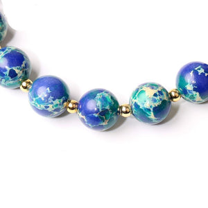 SEA SEDIMENT STONE BRACELET