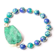 Load image into Gallery viewer, SEA SEDIMENT STONE BRACELET