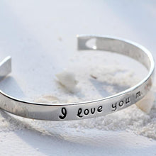 Load image into Gallery viewer, I Love You More Bangle