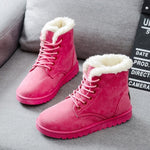 Fuzzy Boots By Luxe
