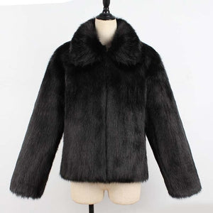 New Short Fur Coat