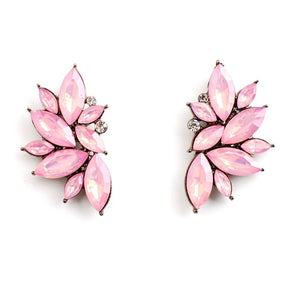 LOTUS FLOWER GOLD EARRINGS