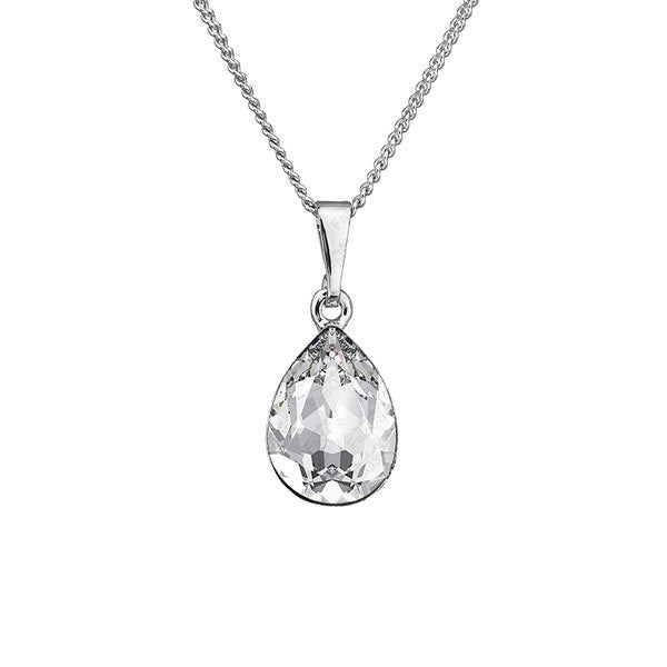 Collier cristal de swarovski diamant - Just-Elle