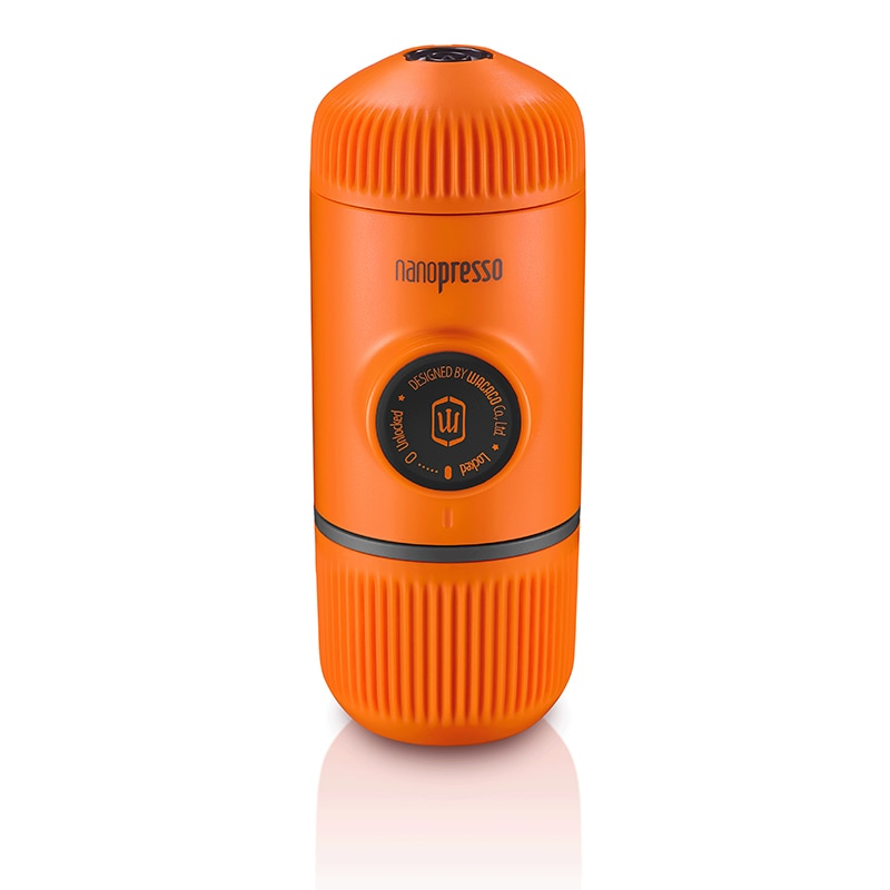 Machine à expresso portable Nanopresso 18 Bar de pression, Edition Orange Patrol. - Just-Elle