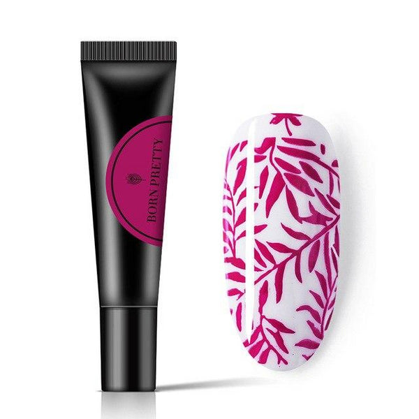 BORN PRETTY Gel de vernis à ongles Pure pour estampage