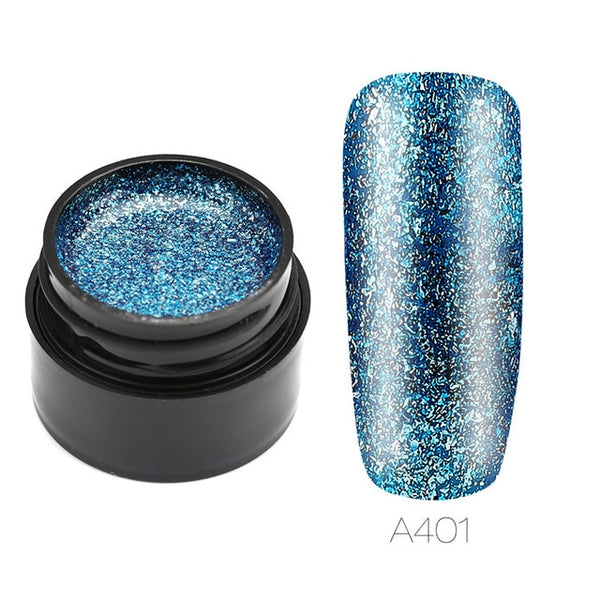 Vernis à ongles gel Brillant Platine - Just-Elle