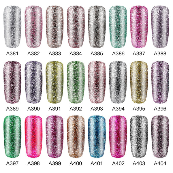 Vernis à ongles gel Brillant Platine