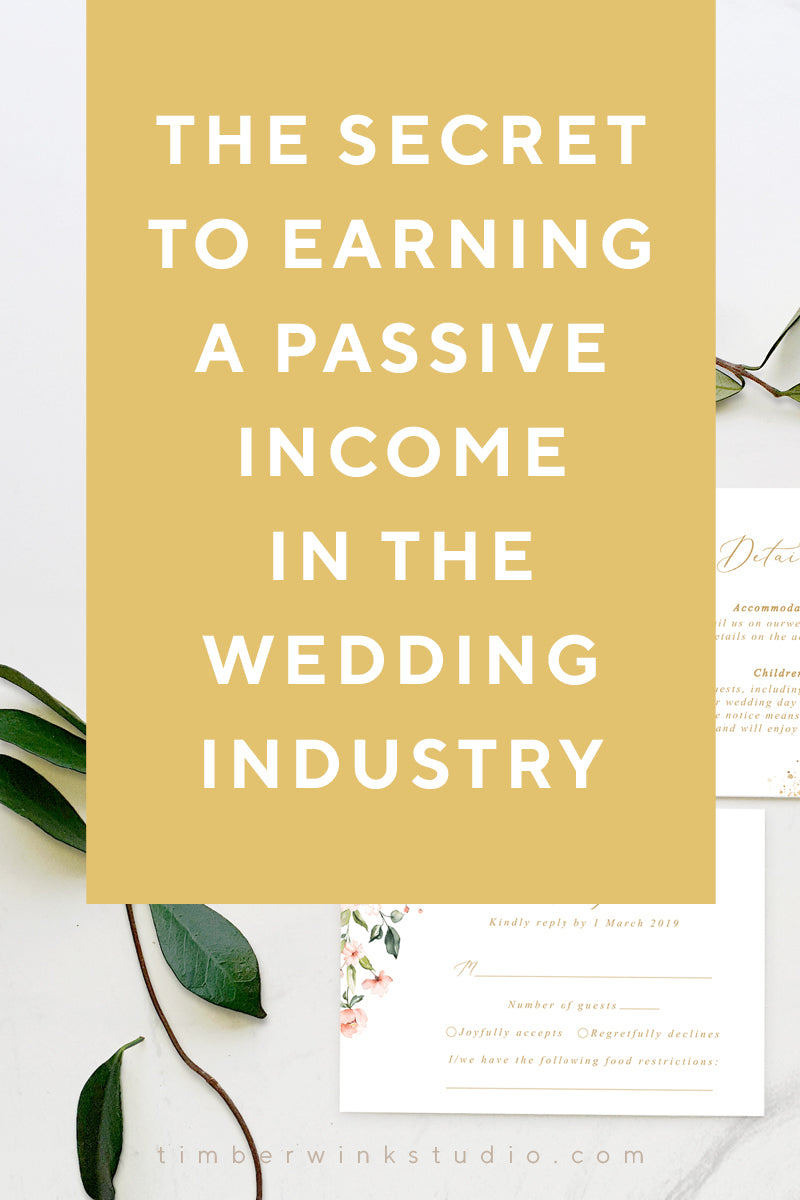 The Secret To Earning A Passive Income In The Wedding Industry with our affiliate program
