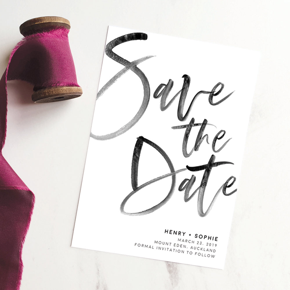 DIY save the dates template