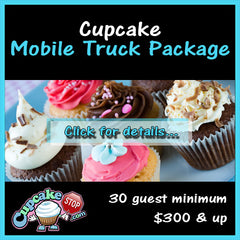 Cupcake truck mobile party package