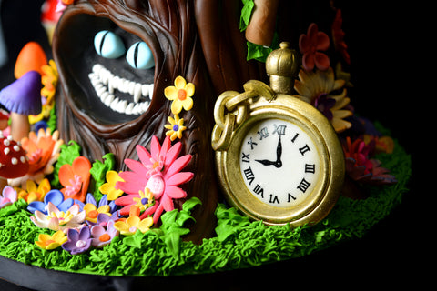 sweet 16 cake nj alice in wonderland cake