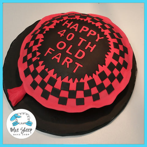 40TH Birthday Whoopie Cushion Cake
