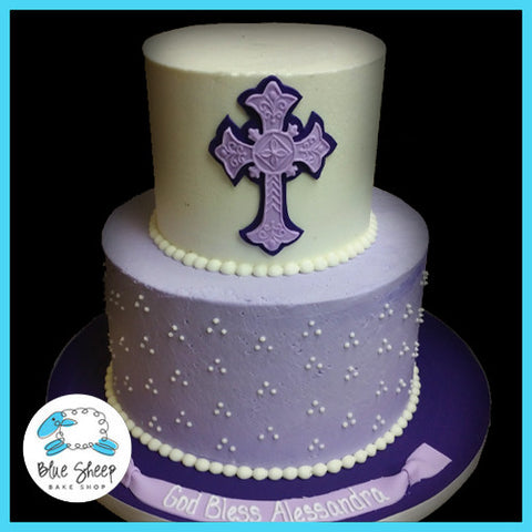 buttercream communion cake nj